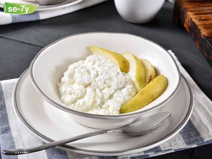 جبن قريش خالي الدسم افضل انواع الجبن